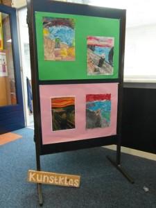 Met de tentoonstelling van alle gemaakte werken werd de kunstmaand op de Tandem afgesloten